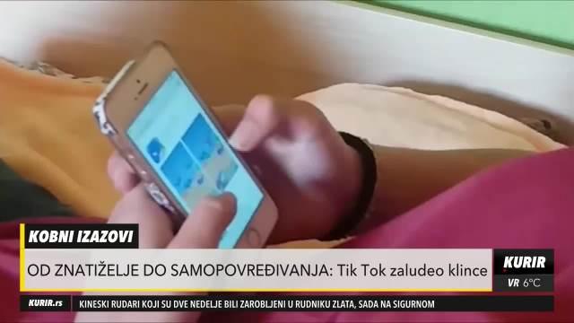 BIZARNI IZAZOVI NA TIK TOKU: Deca od dve godine usvajaju ono što vide na najpopularnoj društvenoj mreži (KURIR TELEVIZIJA)