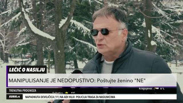JAVNO REKAO ŠTA MISLI O SILOVANJU: Branislav Lečić jedan od RETKIH koji je PROGOVORIO o slučaju Aleksića (KURIR TELEVIZIJA)