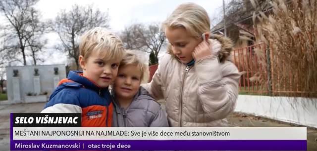 SELO KOJE ŽIVI! U Višnjevcu ima 87 mališana, njihovi roditelji nemaju nameru da napuste mesto (KURIR TELEVIZIJA)