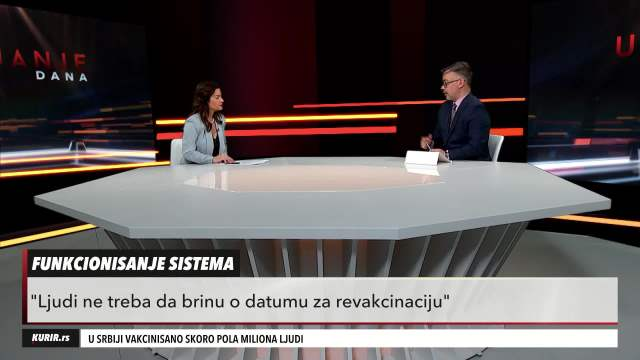 MARIJA OBRADOVIĆ: U Srbiji smo skloni teorijama zavere, podaci građana su sigurni (KURIR TELEVIZIJA)