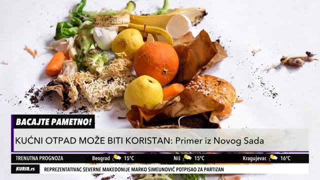 RECIKLIRANJE U KUĆNIM USLOVIMA: Do novog bioproizvoda od ljuske jajeta, kore lubenice, jestivog ulja! (KURIR TELEVIZIJA)