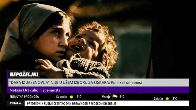 SCENARISTA FILMA DARA IZ JASENOVCA OTKRILA: Iz Hrvatske su mi otvoreno pretili dranjem, silovanjem i klanjem! (KURIR TELEVIZIJA)