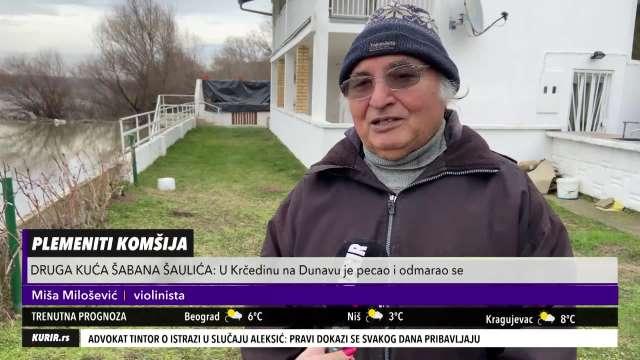 KRČEDINCI SA SETOM I DANAS PRIČAJU O ŠABANU! Voleo je da PECA na Dunavu, ali uživao je i u ovome (KURIR TELEVIZIJA)