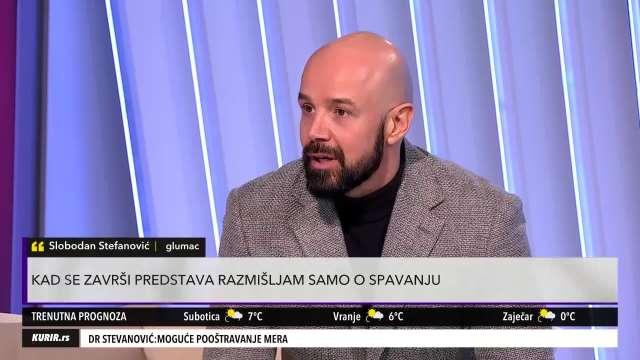 UGOJIO BIH SE ZA VELIKE PARE! Slobodan Stefanović o uslovima pod kojima bi prihvatio takvu ulogu (KURIR TELEVIZIJA)