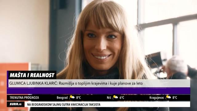 LJUBINKA KLARIĆ U BDP SPREMA NOVU ULOGU: Obožavam mlade glumce, i Tanja Bošković je bila divna prema meni (KURIR TELEVIZIJA)