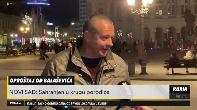 ĐOLETA ŽALE KAO TITA! Robert Čoban: Od Josipa Broza NIKO nije ŽALJEN na prostorima bivše Juge kao Balašević (KURIR TELEVIZIJA)