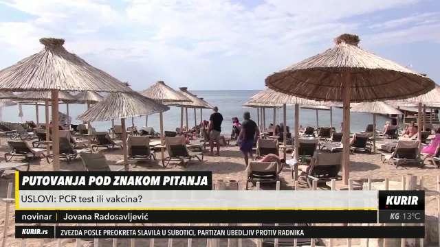 U SUSRET LETU: Bugarska i Turska najavljuju ukidanje PCR testa za srpske turiste, evo od kada (KURIR TELEVIZIJA)