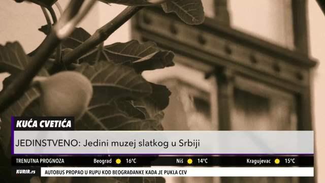 JEDINI MUZEJ SLATKOG U SRBIJI: Ovde se svi eksponati jedu i čuva narodna tradicija i običaji (KURIRI TELEVIZIJA)