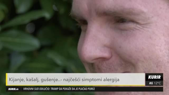 POLEN LESKE I ČEMPRESA VEĆ LETI U VAZDUHU: Nije ni čudo ako vas muče alergije (KURIR TELEVIZIJA)