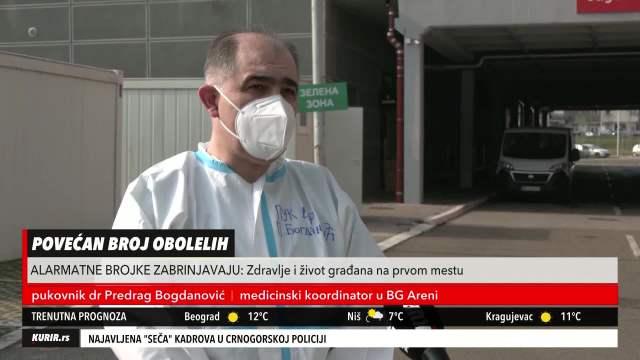 TRI UZROKA ZBOG KOJIH JE ARENA SVE POPUNJENIJA: Pukovnik Bogdanović uživo izneo alarmantne podatke (KURIR TELEVIZIJA)