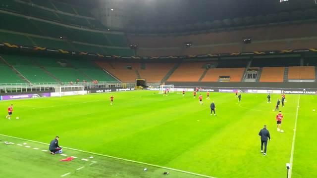 KURIR U MILANU: Fudbaleri Crvene zvezde odradili trening pred utakmicu sa Rosonerima!