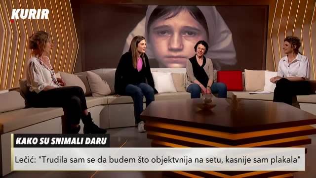 IZA SCENE NA SNIMANJU DARE: Glumica ZAVRŠILA sa PRELOMOM ruke! Ana Lečić OTKRILA sve DETALJE (KURIR TELEVIZIJA)