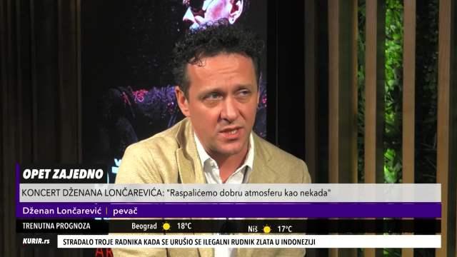 KOCKAM SE SA ŽIVOTOM! Dženan Lončarević OTOVRENO PRIZNAO što mnogi ne bi, pa spomenuo KOCKARNICE (KURIR TELEVIZIJA)