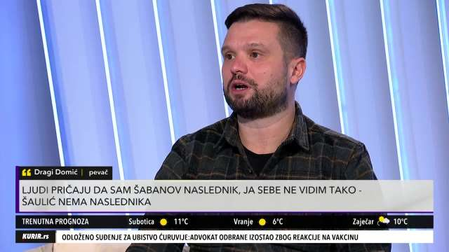 DRAGI DOMIĆ RAZGALIO CECU POSEBNOM PESMOM: Pevač OTKRIO TAJNU uspeha na estradi (KURIR TELEVIZIJA)