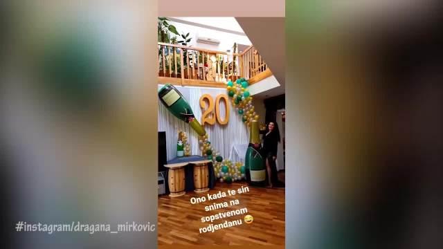 SLAVILI SMO ROĐENDAN KAO IVKOVU SLAVU! Dragana Mirković 5 dana se veselila u DVORCU, sin Marko sve SNIMIO!