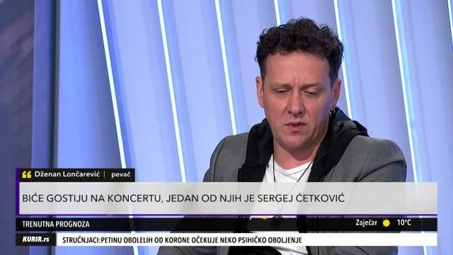 DŽENAN LONČAREVIĆ U PULSU SRBIJE: Muzika je UŽIVANJE, sada vreme da ljudima POKLANJAMO PESME (KURIR TELEVIZIJA)