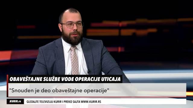 DARKO OBRADOVIĆ: Ruska federacija vodi hibridni rat protiv BiH, Srbije, Crne Gore i Severne Makedonije (KURIR TELEVIZIJA)