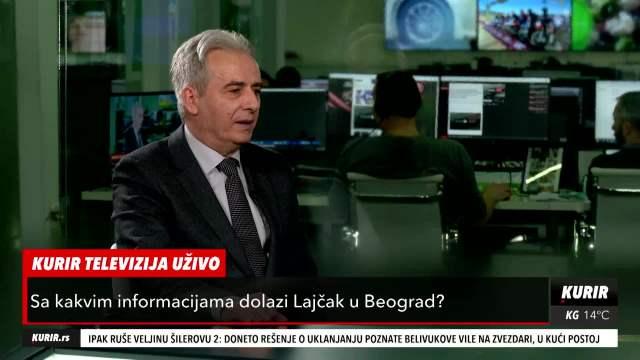 DRECUN NA KURIR TELEVIZIJI: Nema napretka u pregovorima Beograd-Priština! Lajček NE POKREĆE temu o zajednicama srpskih opština