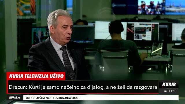 DRECUN O LAJČAKU: On ne pokreće temu SRPSKIH ZAJEDNICA - Cilj je Velika Albanija i etničko čišćenje Srba (KURIR TELEVIZIJA)