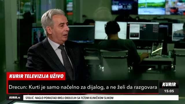 LAJČAK TOLERIŠE JEDNOSTRANO PONAŠANJE ALBANACA: Drecun na Kurir televiziji OŠTRO o pregovorima Beograd-Priština
