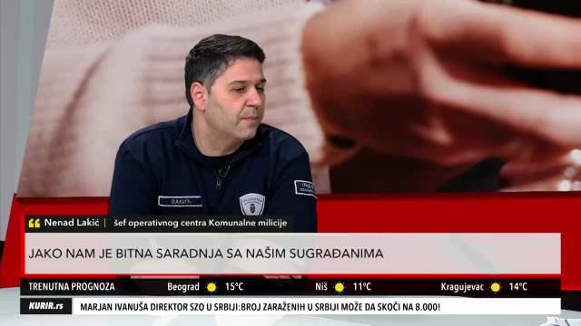 ŠEF KOMUNALNE MILICIJE: Kovid žurke prave se VAN Beograda! Građani da PRIJAVE čim uoče okupljanje (KURIR TELEVIZIJA)