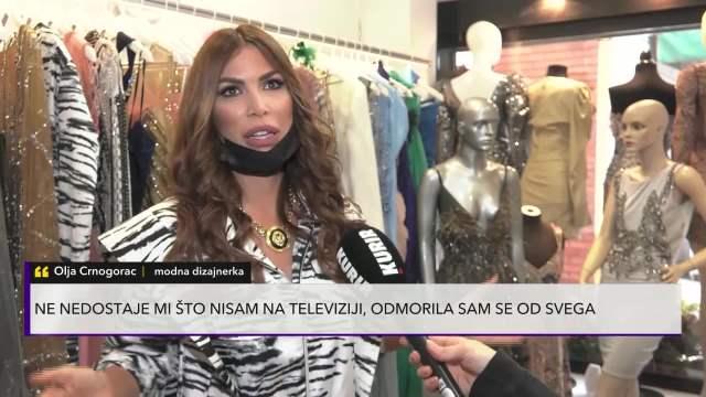 OVA ŽENA VODI NAJDOSADNIJI ŽIVOT: Olja Crnogorac u medijima prvi put posle sedam godina (KURIR TELEVIZIJA)