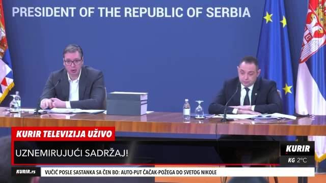DRŽAVNI VRH PRIKAZAO ZASTRAŠUJUĆE FOTOGRAFIJE: Dva minuta jezivih scena koje su šokirale Srbiju (KURIR TELEVIZIJA)