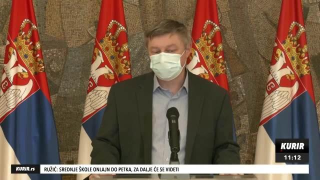 DOKTOR STEVANOVIĆ NAKON SEDNICE KRIZNOG ŠTABA: Sistem PRENAPREGNUT pacijenti iz Beograda premeštaju se u Kruševac KURIR TELEVIZIJA