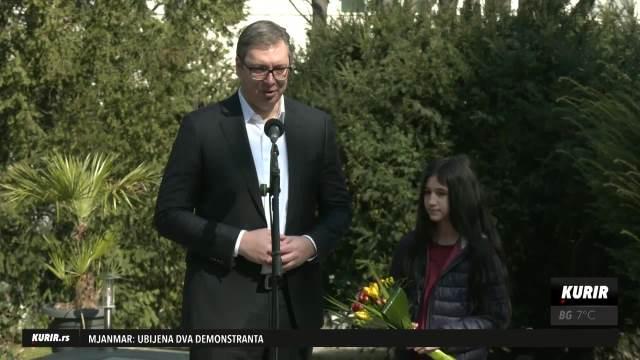 PREDSEDNIK VUČIĆ SA BILJANOM ČEKIĆ: Hvala za sve što je uradila za srpski narod! Zaslužila je VIŠE od Oskara (KURIR TELEVIZIJA)