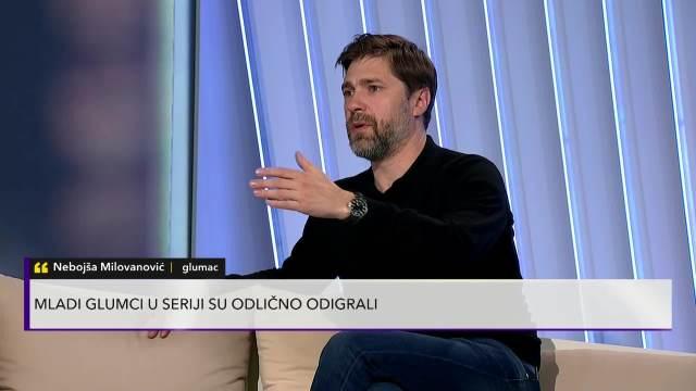 Nebojša Milovanović o snimanju serija Tajna vinove loze