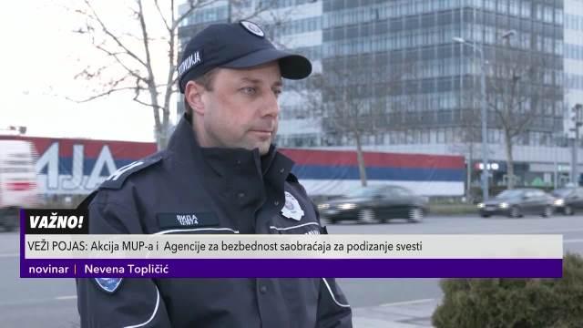 Policija napisala  2.000 kazni zbog nevezanog pojasa i čak 700 zbog mobilnog telefona