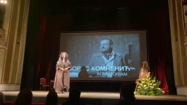 Ivana Vujić Kominac drzi govor