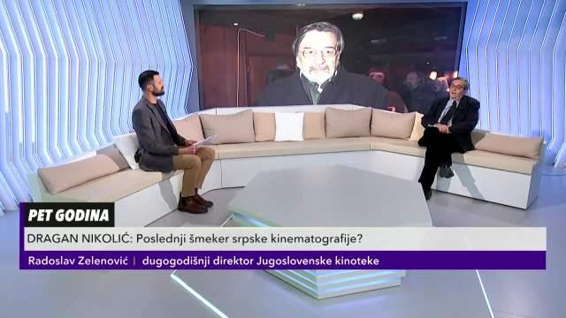Radoslav Zelenković o Draganu NIkoliću kao o poslednjem šmekeru srpske kinematografije