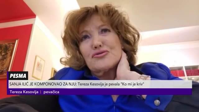 Tereza Kesovija tužna zbog smrti kompozitora Sanje Ilića