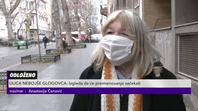 Pitali smo građane šta misle da sokak na Dorćolu ponese ime Nebojše Glogovca