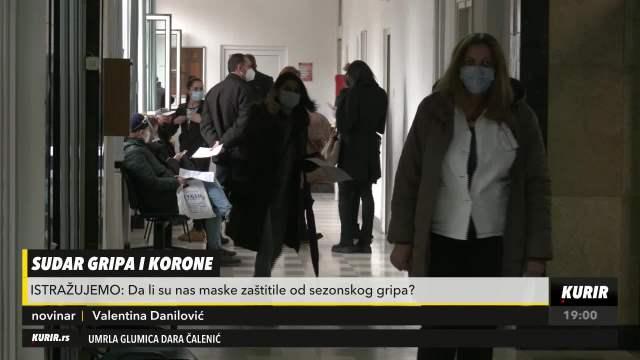 Sezonski grip i korona: Maske sprečavaju širenje oba virusa