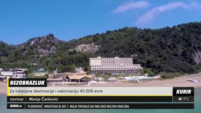 Putovanja samo za bogate: Za luksuzne destinacije u vakcinaciju 45.000 evra