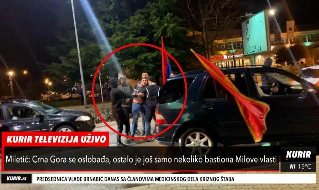 Sukob dvojice muškaraca na ulicama Nikšića