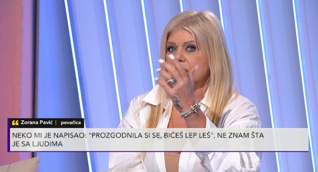 Zorana Pavić dobija pretnje smrću na mrežama
