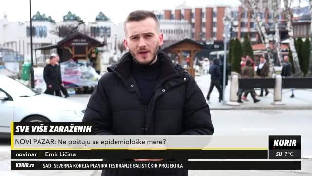 Zašto se u Novom Pazaru ne poštuju epidemiološke mere?