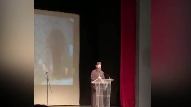 govor Arhimandrita Ilariona u Gračanici povodom godišnjice pogroma