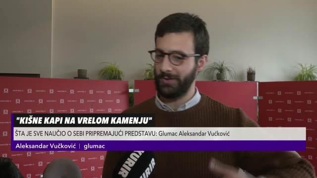 """Aleksandar Vučković otkrio """"tamnu stranu"""" glume"""