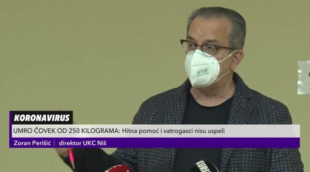 Dr Perišić objasnio zašto dolazi do smrti od koronavirusa kod gojaznih
