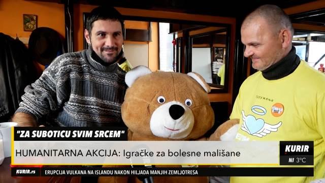 Humanitarna akcija Subotičana: Donirali igračke za bolesnu decu