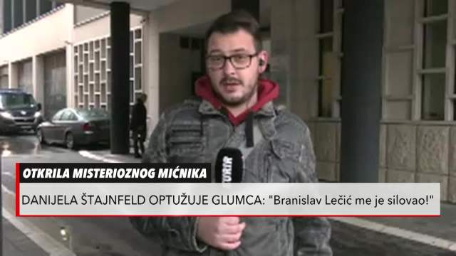 Danijela Štajnfeld otkrila da ju je silovao Branislav Lečić