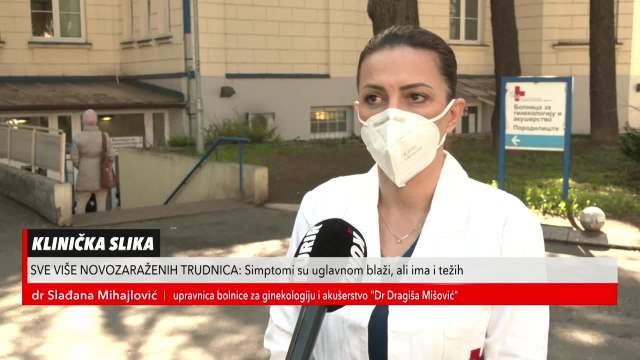 dr Slađana Mihajlović, upravnica bolnice za ginekologiju i akušerstvo Dr Dragiša Mišović