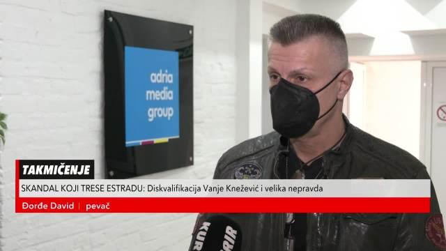 Đorđe David žestoko reagovao na diskvalifikaciju Vanje Knežević