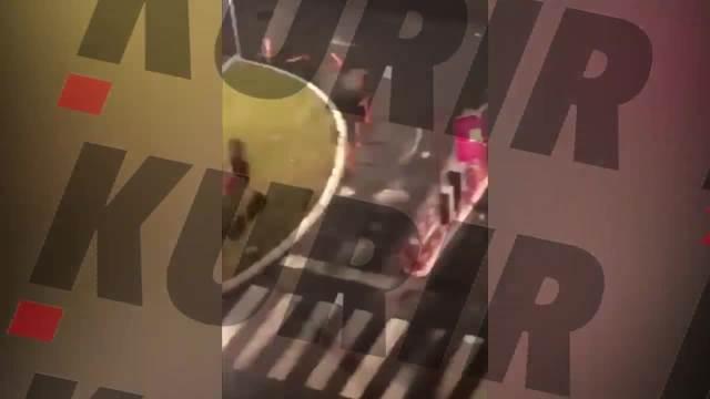 HIT NA PARKINGU BEOGRADSKOG TRŽNOG CENTRA! Devojka hoće da izađe iako je rampa spuštena, a na kraju snimka VRIŠTAĆETE OD SMEHA