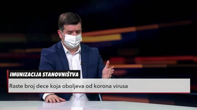 Mirsad Đerlek u Usijanju dana o vakcinama za decu