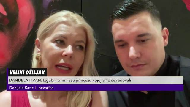 Danijela Karić and Ivan Mileusnić about the accident that happened to them in DUBAI!